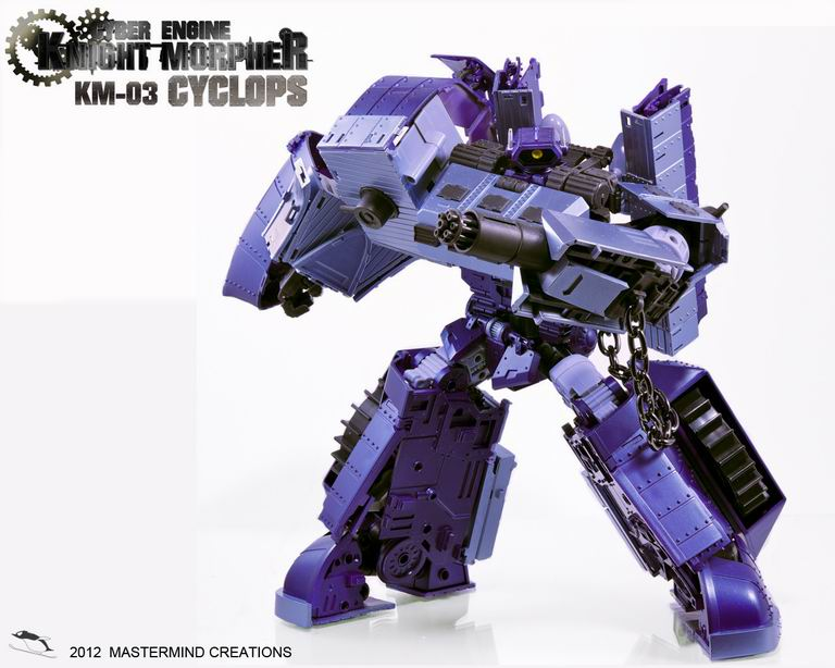 Discount ~KM-03  Mastermind Creations  Cyclops brutal shockwave