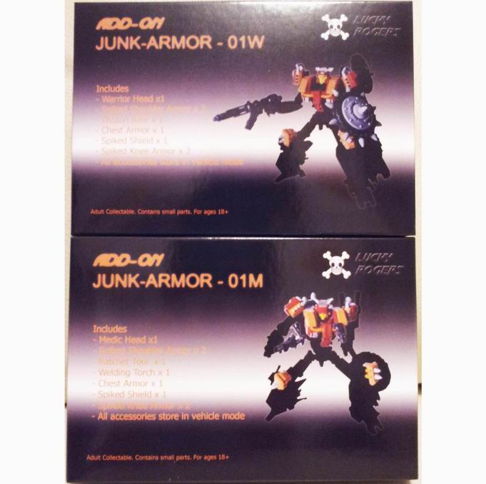 Lucky Rogers Junkion add-on kit set of 2