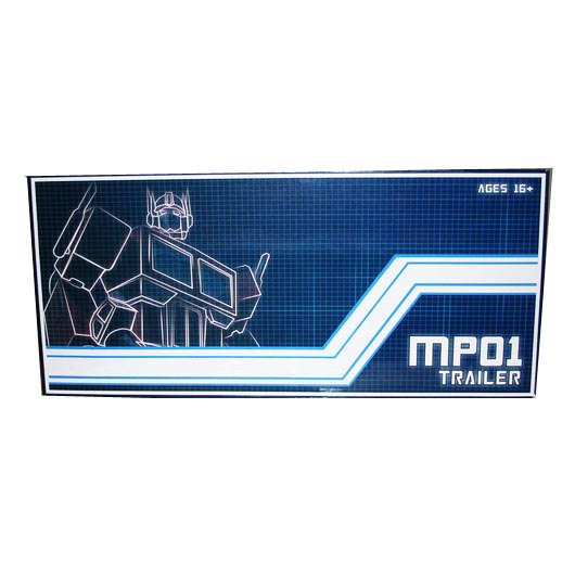 TRAILER with ROLLER for  MP01 Optimus Prime