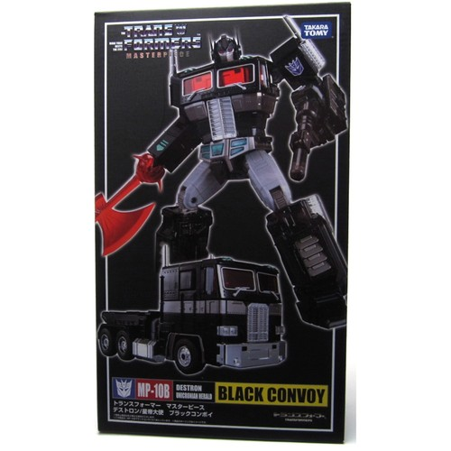 Transformers Masterpiece MP-10B Black Convoy Optimus Prime