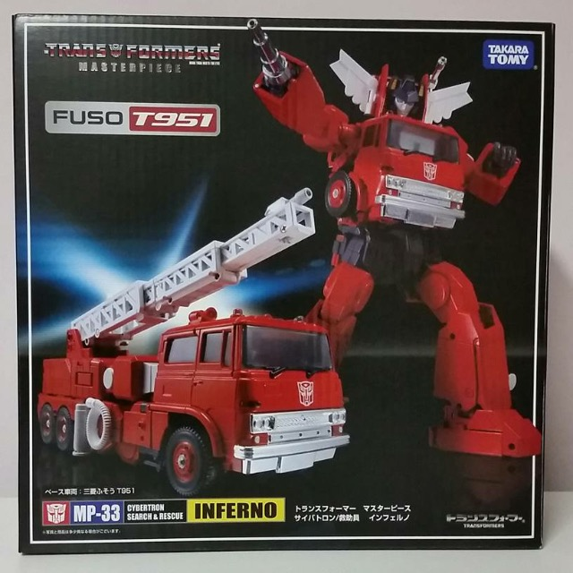 TakaraTomy MP-33 Masterpiece Inferno (NO Mini Figure)