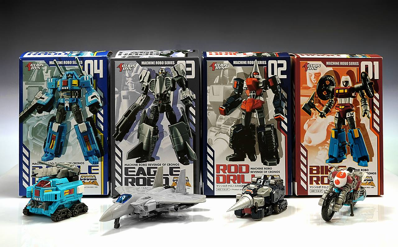 Action Toys  MR-01+02+03+04