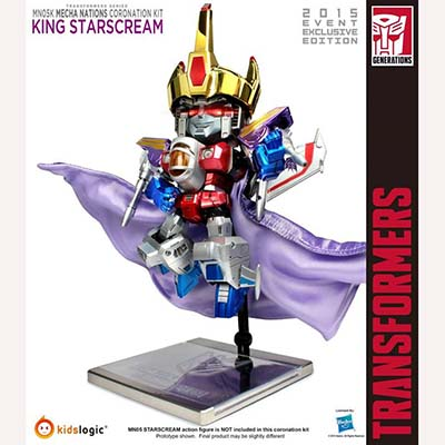 Kids Logic Transformers kidslogic starscream cornonation kit