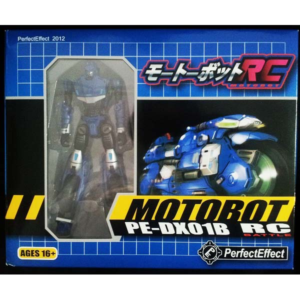 Perfect Effect MOTOBOT PE-DX-01B RC (BLUE)