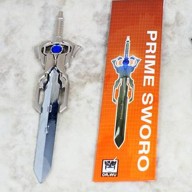 DW-TP05 - Blue Matrix Prime Sword