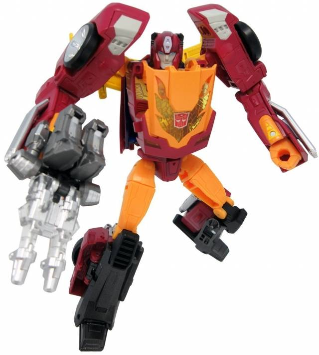 TakaTomy Transformers Legends - LG45 Targetmaster Hot Rod / Hot