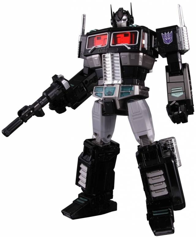 TakaraTomy MP-10B - Masterpiece Black Convoy with Coin