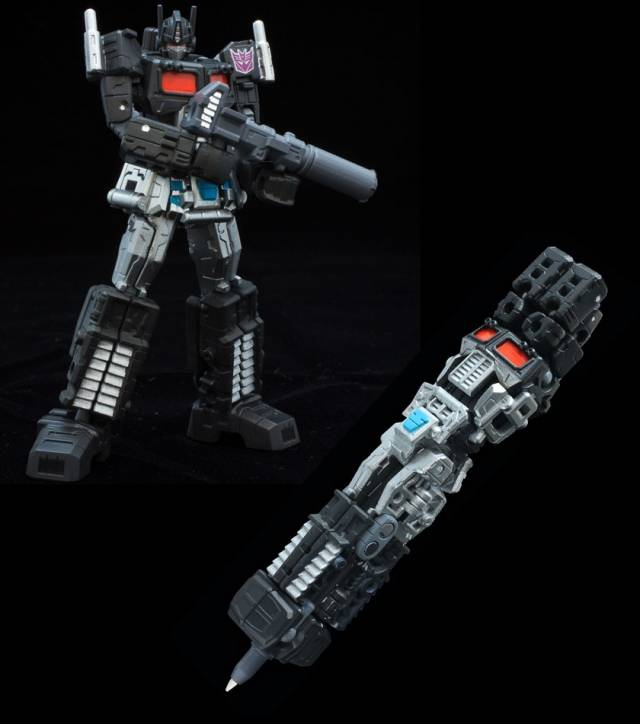 Sen-Ti-Nel – TRANSFORMERS Black Convoy Pen