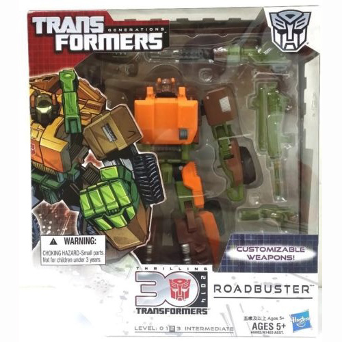 Transformers Generations  30 Anniversary  Voyager Roadbuster