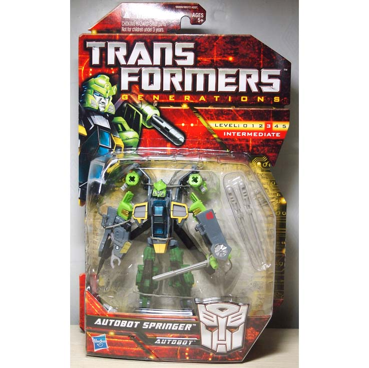 TRANSFORMERS GENERATIONS SPRINGER ASIA EXCLUSIVE