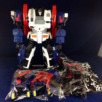Xovergen - TF-02 God Armor Add on Kit for MP-10 (no box Packing)