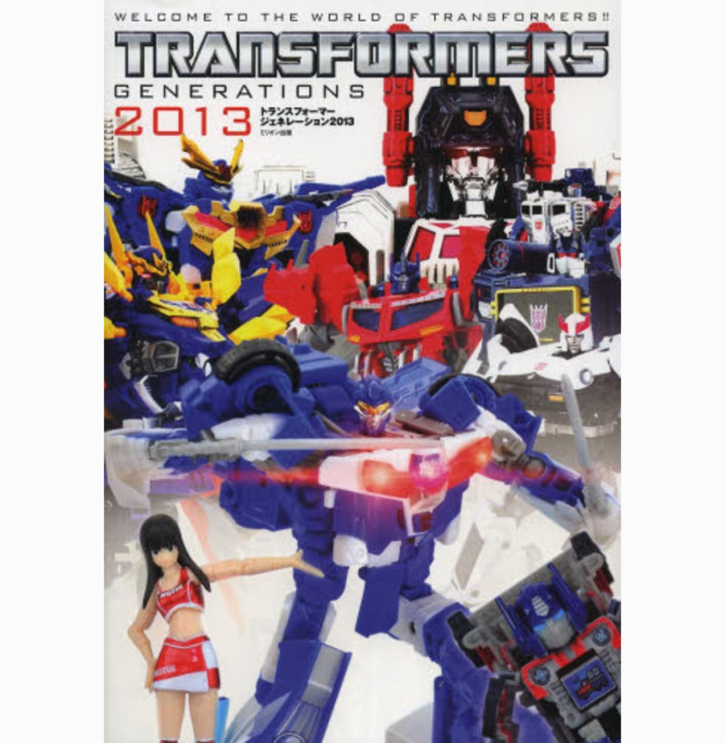Transformers Generations 2013 Japan Guide Toy Book  free ship