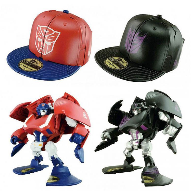 Transformers Cap Bots by TakaraTomy ( SET of 2 )