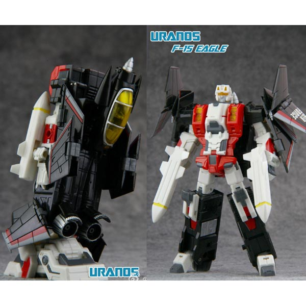 TFC Uranos F15 Eagle (Toy on hand)