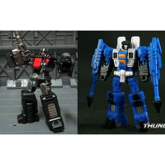 TFC  Target Master Nemesis Optimus & Thundercracker