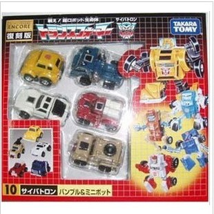 Takara Transformers G1 Encore 10  Mini Robot Set
