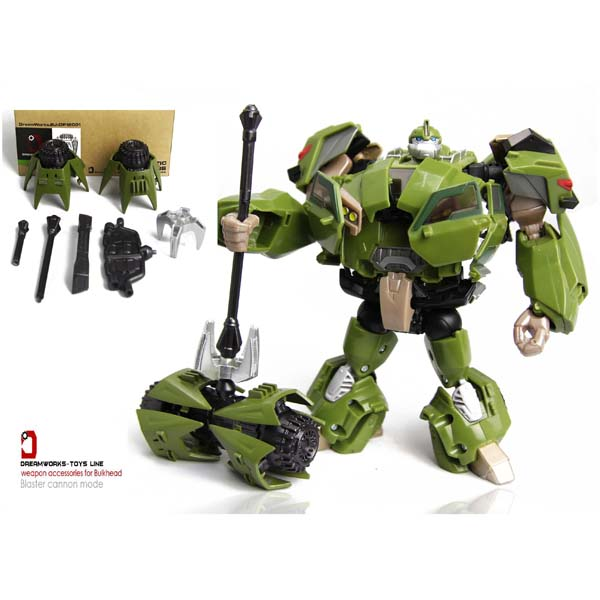 DreamWork TFPrime Bulkhead first edition