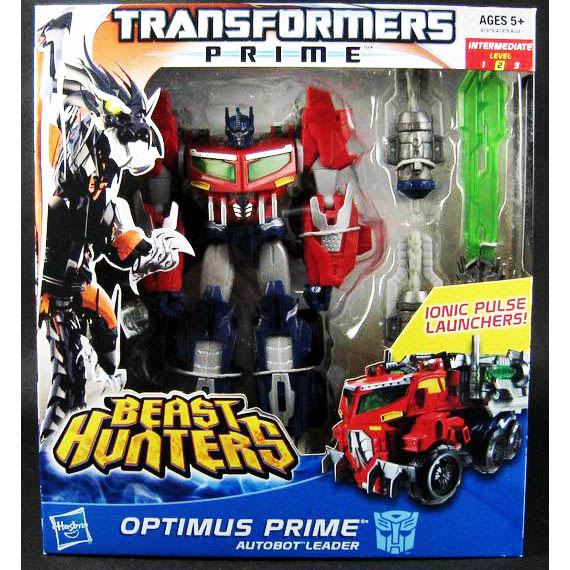 Transformers Prime Optimus Beast Hunters Voyager