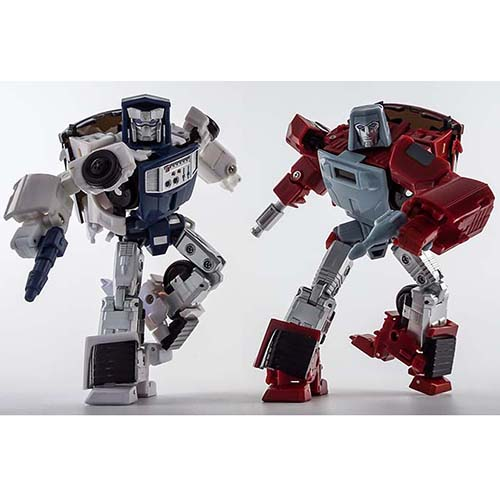 X-Transbots MM-VI Boost  & MM-VII Hatch (TOY Ver)