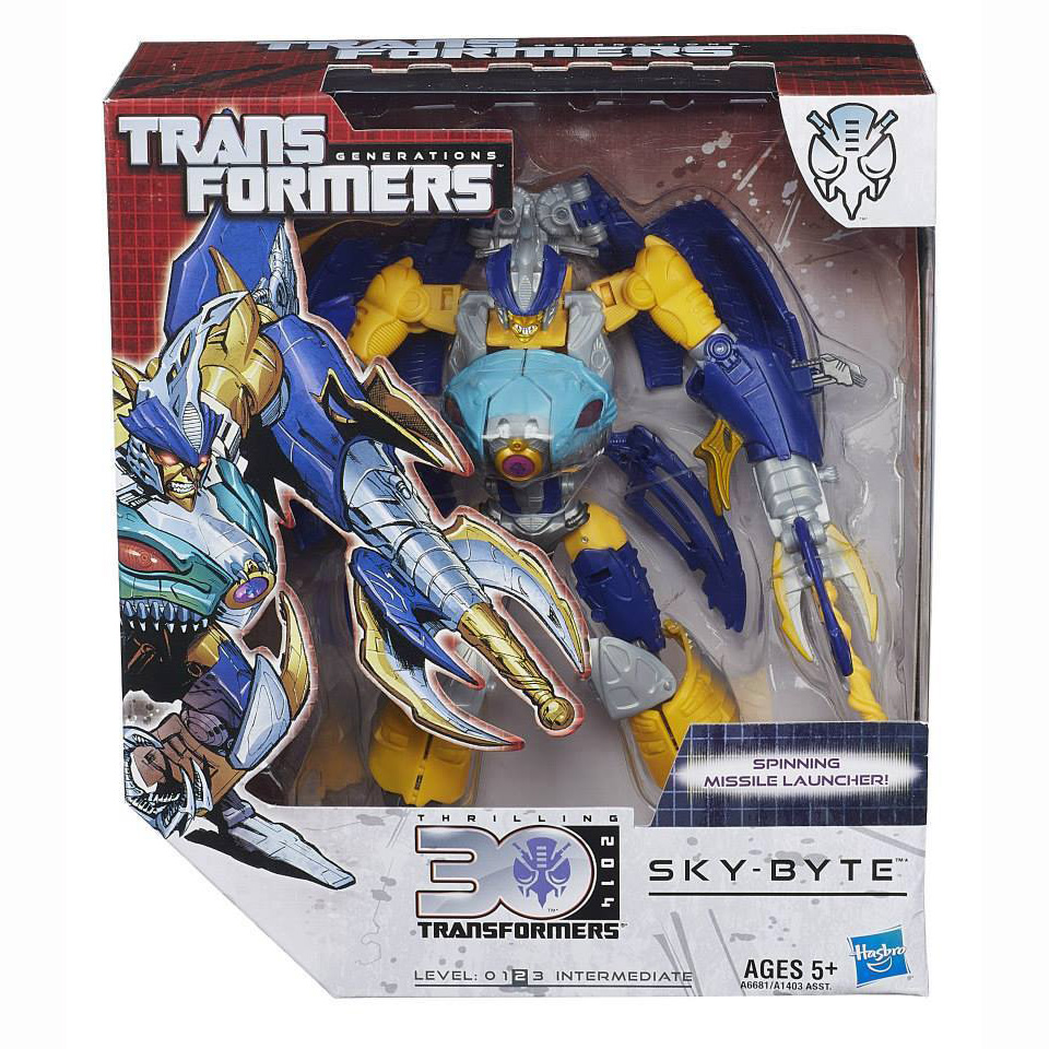 Transformers Generations 30 Anniversary Sky- Byte