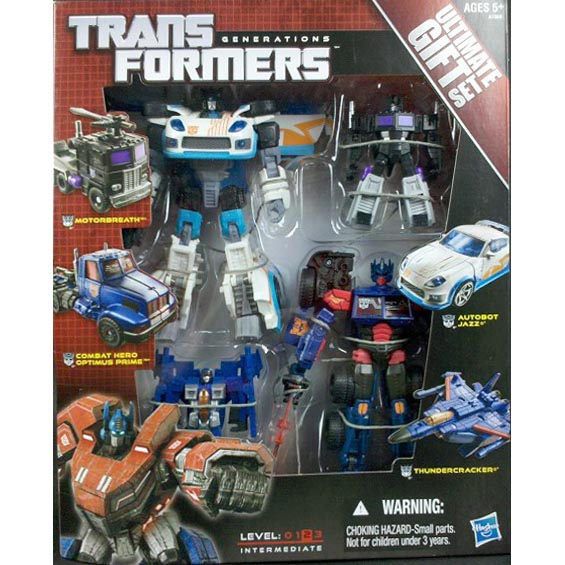 Hasbro Transformers Generations Ultimate Gift Set Optimus & Jazz