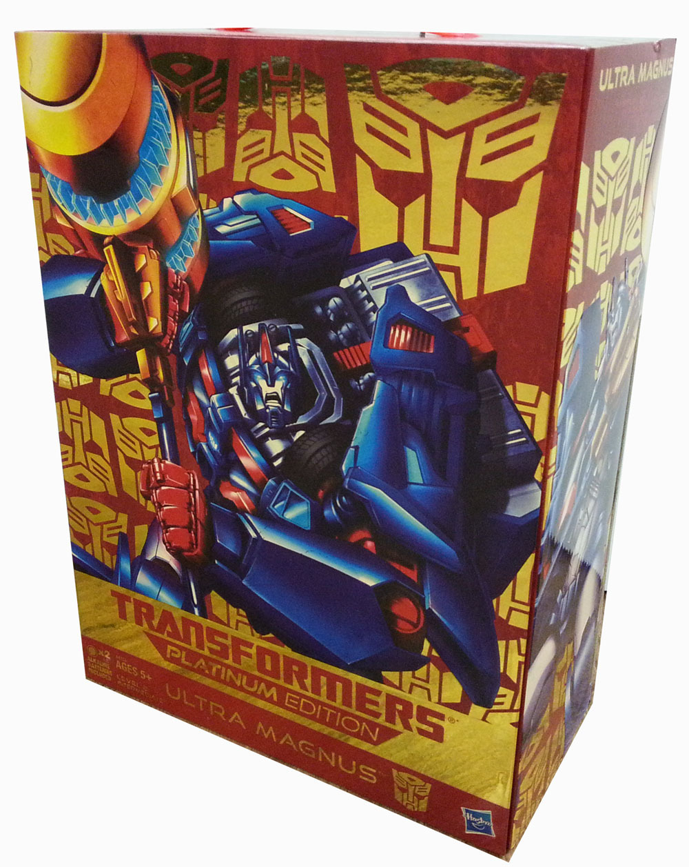 TRANSFORMERS PLATINUM EDITION ULTRA MAGNUS Weaponizer Exclusive