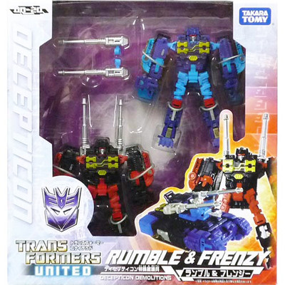 Restock ~Transformers United UN20 Rumble & Frenzy