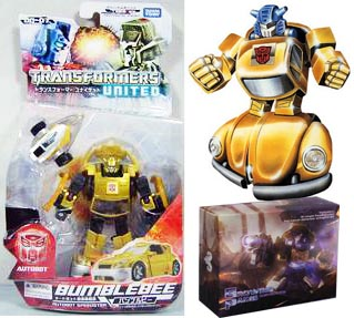 United UN07 Bumblebee + Beelzeboss Devil Horns Classic Gold Bug