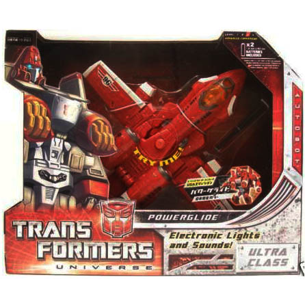 TRANSFORMERS UNIVERSE POWERGLIDE G1 COLORS JAPAN EXCLUS