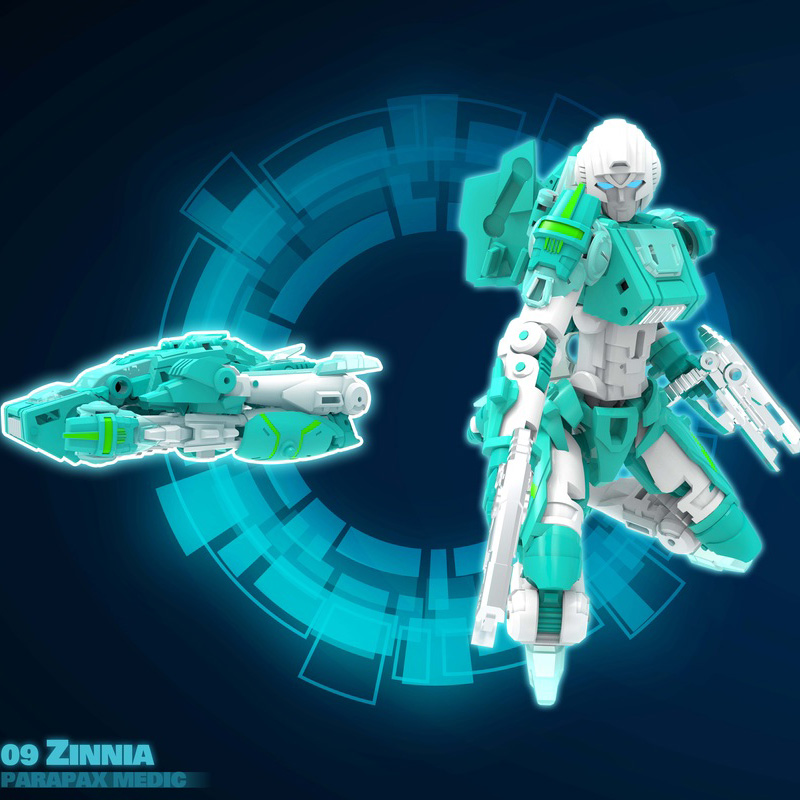 MMC Reformatted R-09 Zinnia Parapax Medic (Green)