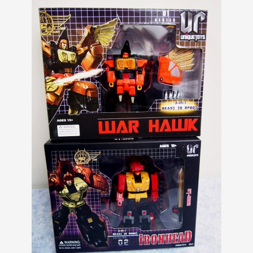 Unique Toys 01 02 War-Hawk +War Rhino