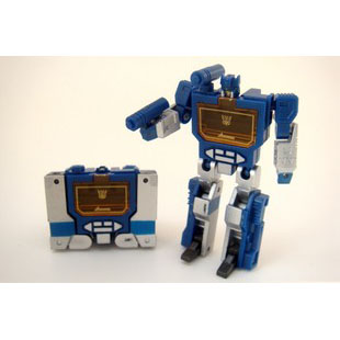 Smallest WST 2.5 Soundwave (Blue)