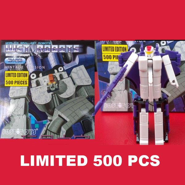 JUSTTOYS WST Astrotrain Limited Edition  500 PCS