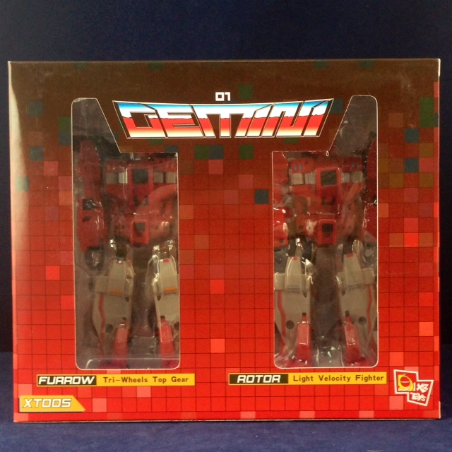 X2toys XT005 Gemini G01 Furrow & Rotor + DKR002~Ship now