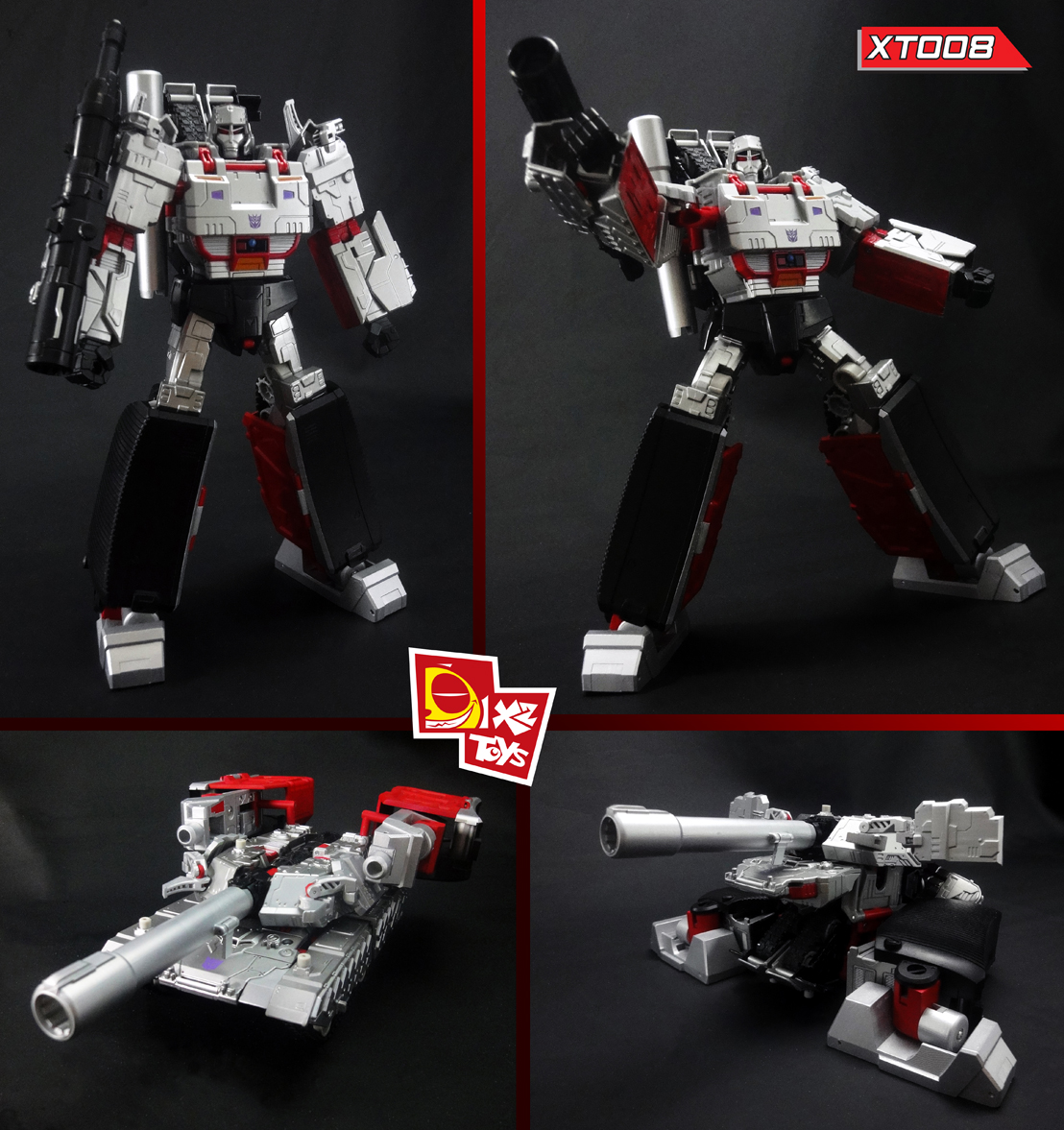 X2TOYS XT008 megatron Upgrade kit